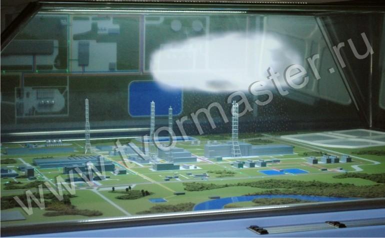 голография в воздухе