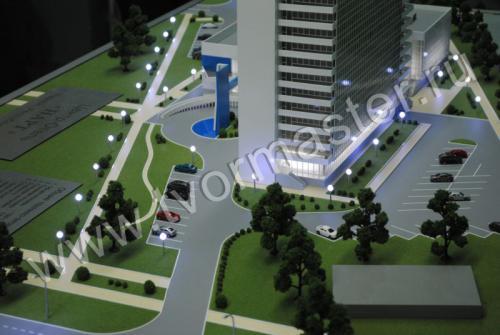 Макет центр-отеля НАРТ г. Майкоп.2