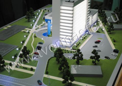Макет центр-отеля НАРТ г. Майкоп.3