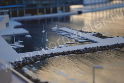 Макет морского порта города  Анапы и яхт-марины Горгипия14