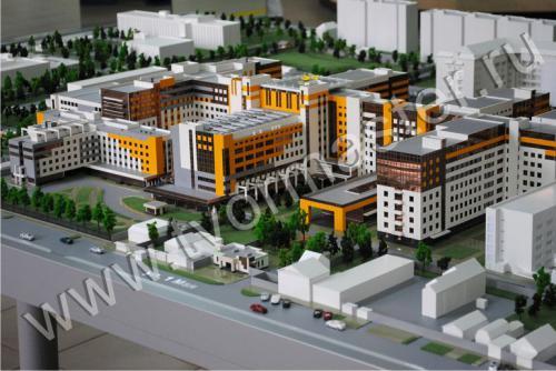 Интерактивный макет краевой клинической больницы №1 имени профессора С.В. Очаповского
