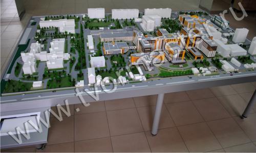 Интерактивный макет краевой клинической больницы №1 имени профессора С.В. Очаповского1