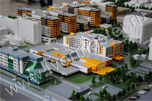 Интерактивный макет краевой клинической больницы №1 имени профессора С.В. Очаповского2