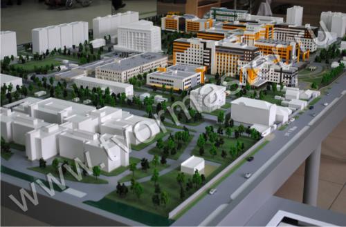 Интерактивный макет краевой клинической больницы №1 имени профессора С.В. Очаповского3