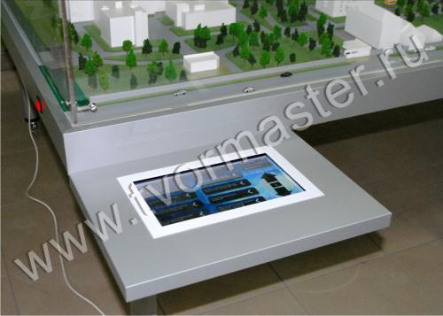 Интерактивный макет краевой клинической больницы №1 имени профессора С.В. Очаповского6