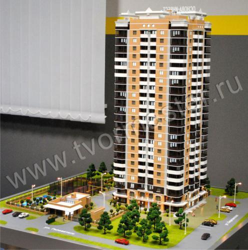 Интерактивный макет дома на Березанской.