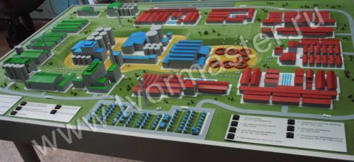 Концептуальный макет агротехнопарка АгроДагИталия