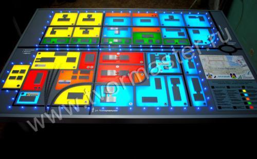 Концептуальный макет технопарка в г. Усть-Лабинск